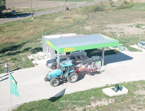 Megnyitottuk első benzinkutunkat